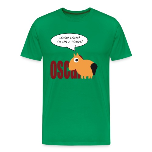 Oscar heren-tshirt - Mannen Premium T-shirt