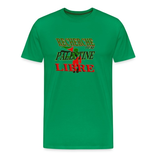 Recherche Palestine libre - T-shirt Premium Homme