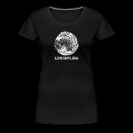T-Shirts ~ Women's Premium T-Shirt ~ Lucidflow Logo White