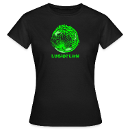 T-Shirts ~ Women's T-Shirt ~ Lucidflow Logo Green