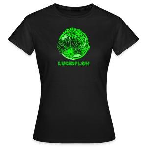 Lucidflow Logo Green - Women's T-Shirt