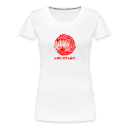 T-Shirts ~ Women's Premium T-Shirt ~ Lucidflow Logo Red