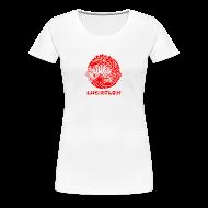 T-Shirts ~ Women's Premium T-Shirt ~ Lucidflow Logo Red
