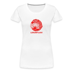 Lucidflow Logo Red - Women's Premium T-Shirt