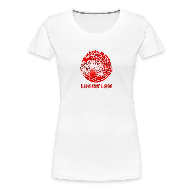 Lucidflow Logo Red - Women's Premium T-Shirt