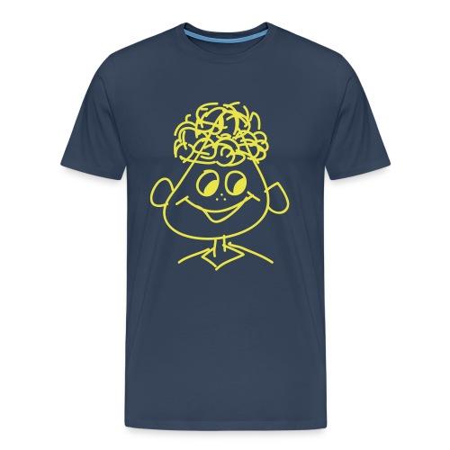 Männer T-Shirt Druck vorne - Männer Premium T-Shirt
