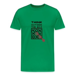 Think Outside The Box - Men's Premium T-Shirt