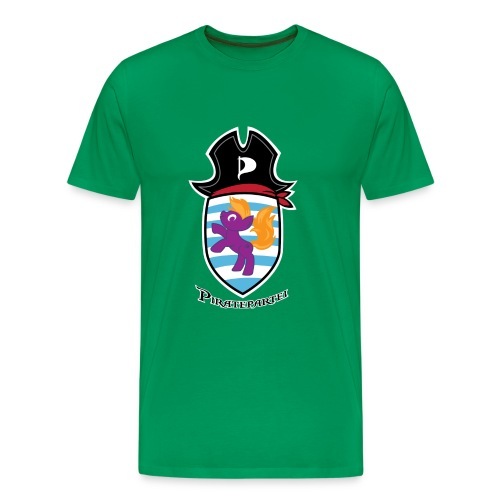 Ponywopen - Moossgréng (Piraten) - Männer Premium T-Shirt