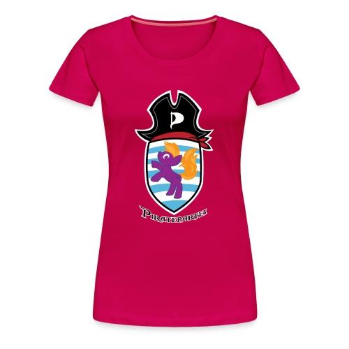 Ponywopen - rosa (Pirateninnen) - Frauen Premium T-Shirt