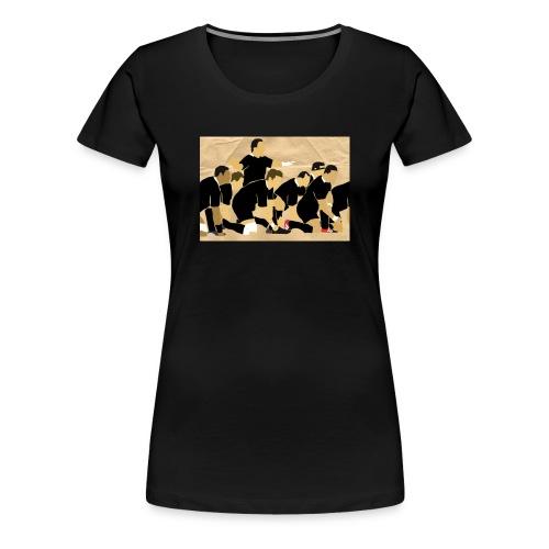 Haka - All Blacks - dames - Vrouwen Premium T-shirt