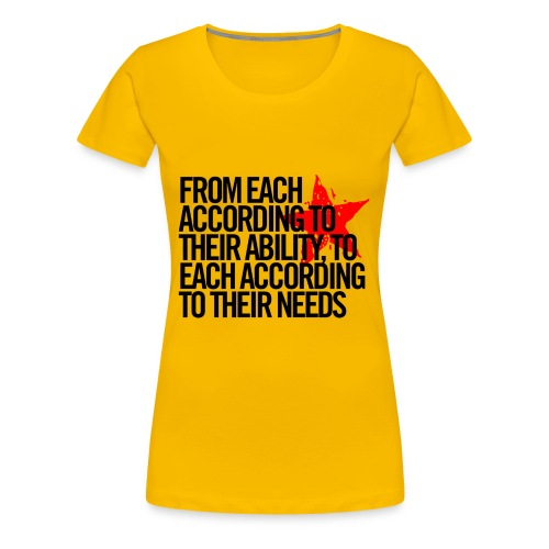 From each....... - Women's Premium T-Shirt
