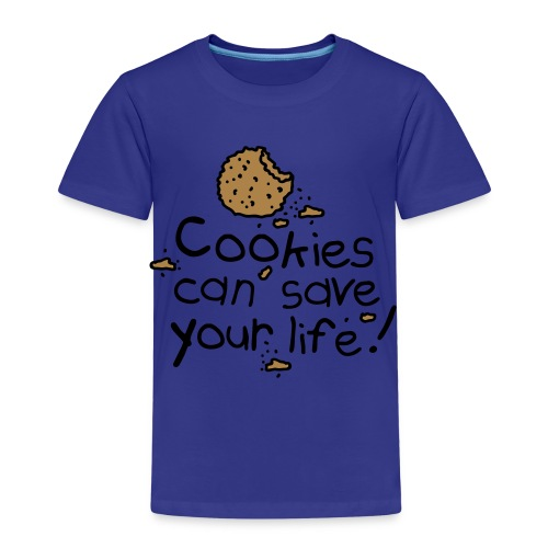 Cookies can save your life! - Kinderen Premium T-shirt