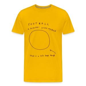Football: A Beautiful Game - Men's Premium T-Shirt
