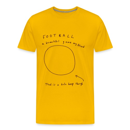 Football: A Beautiful Game - Men's Premium T-Shirt