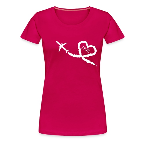 Love is in the air - DUS - Frauen Premium T-Shirt