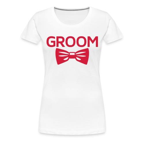 Tee Shirt Femme Groom - T-shirt Premium Femme