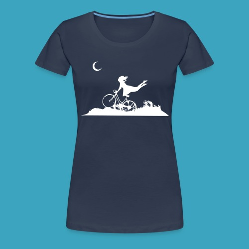 Fly me to the moon! - Frauen Premium T-Shirt