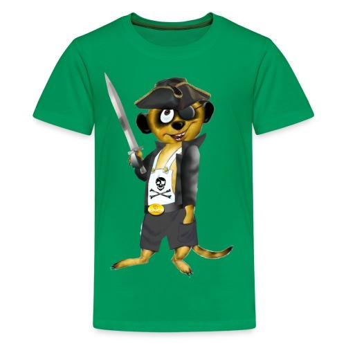 Piraten-Schlingel - Teenager Premium T-Shirt