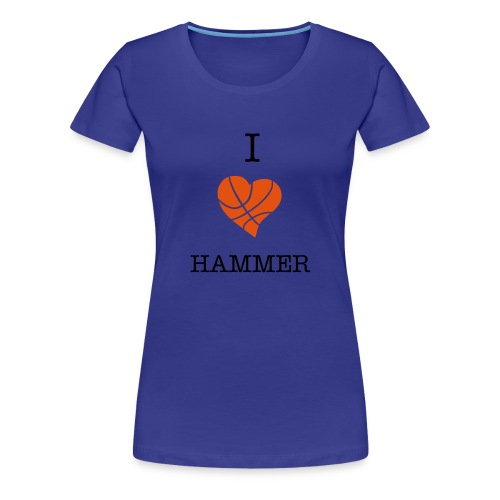 Hammer love ladies T - Women's Premium T-Shirt