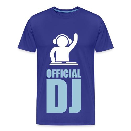 Official DJ - Mannen Premium T-shirt