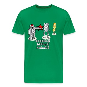 Brobots - Men's Premium T-Shirt