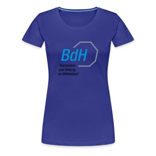 BdH-Logo Frauen türkis - Frauen Premium T-Shirt