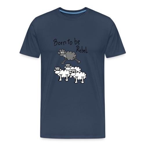 Rebel Sheep - Men's Premium T-Shirt