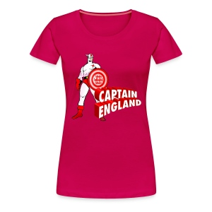 Captain England (f) - Women's Premium T-Shirt
