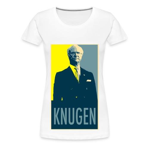 Knugen Ladies - Premium-T-shirt dam