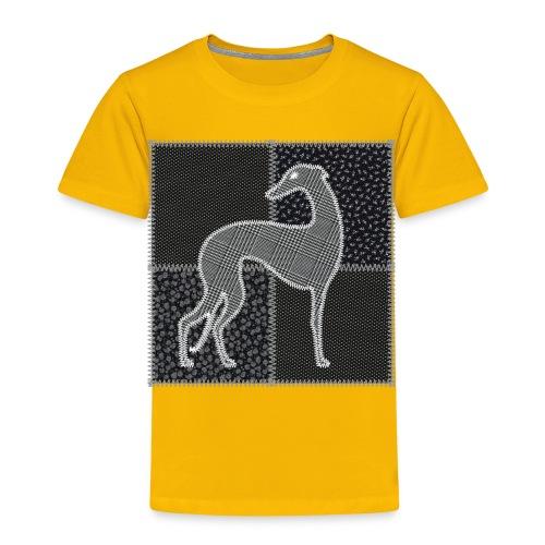 Lévriers stylisés. Patchwork - T-shirt Premium Enfant
