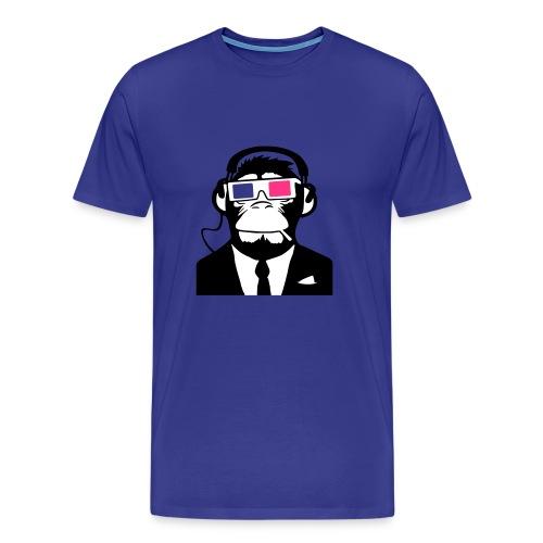 3D Monkey - Men's Premium T-Shirt