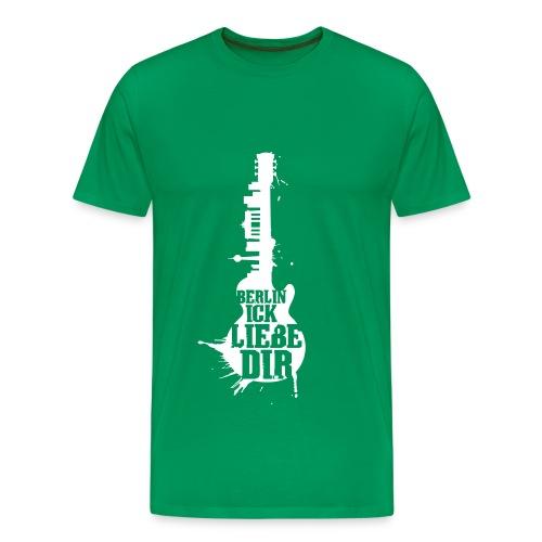 Berlin, ick liebe Dir - Männer Premium T-Shirt