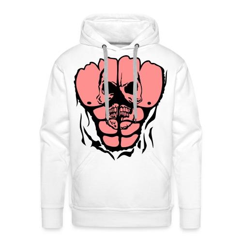 Sweat Homme Abdominaux - Sweat-shirt à capuche Premium pour hommes
