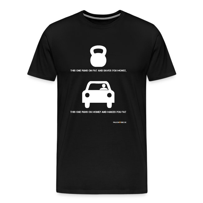 this one runs on fat and saves you money -  t-shirt för killar