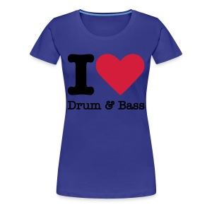 DnB Female - Frauen Premium T-Shirt
