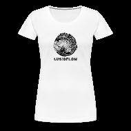 T-Shirts ~ Women's Premium T-Shirt ~ Lucidflow Logo Black