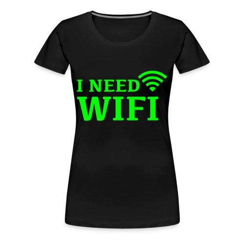 crazy geek - T-shirt Premium Femme