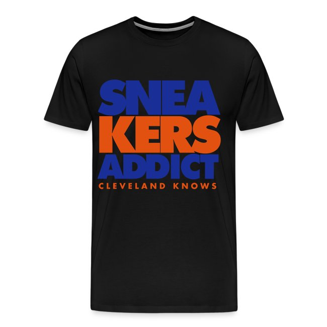 "T-Shirt ""Cleveland Knows"" Homme noir (Regular Fit)"
