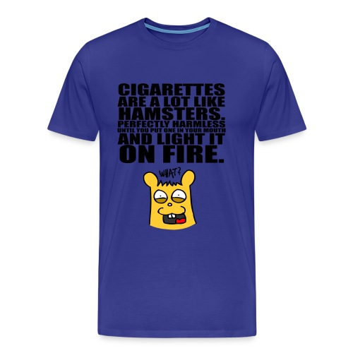 Smoke A Hamster - Männer Premium T-Shirt