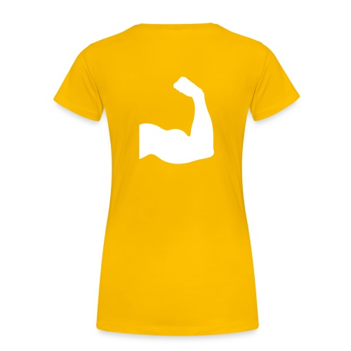 DAMES - Show me your muscles! - Vrouwen Premium T-shirt