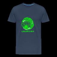 T-Shirts ~ Men's Premium T-Shirt ~ Lucidflow Logo Green