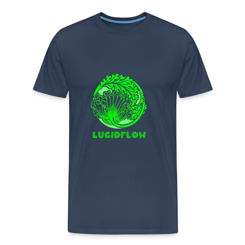Lucidflow Logo Green - Men's Premium T-Shirt