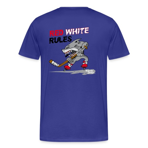 Red White Rules - Männer Premium T-Shirt