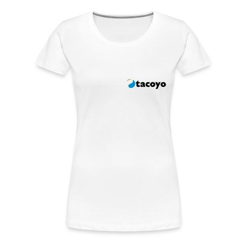 Vrouwen girlie - ZWART LOGO - Vrouwen Premium T-shirt