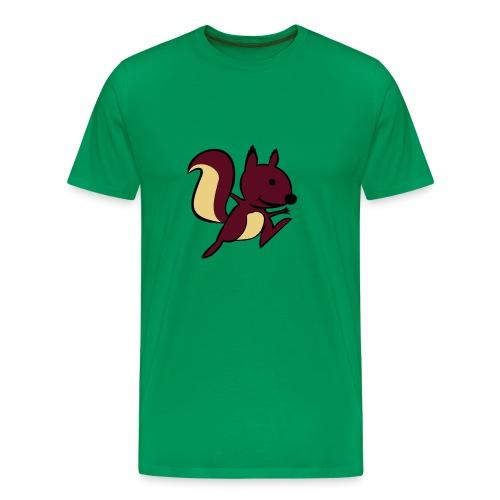 Ardilla - Camiseta premium hombre