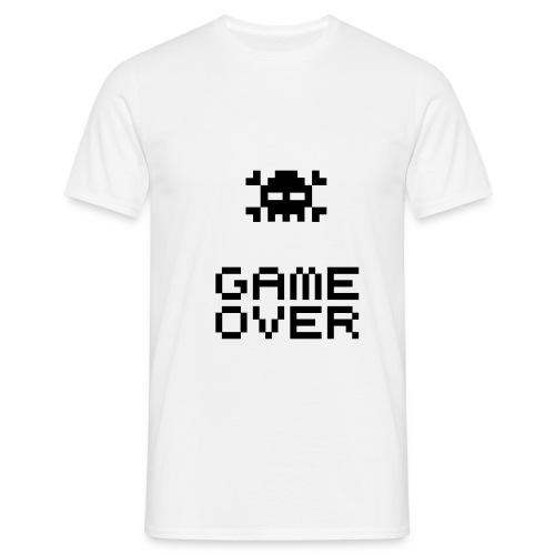 Maglietta Uomo - Game Over - Maglietta da uomo
