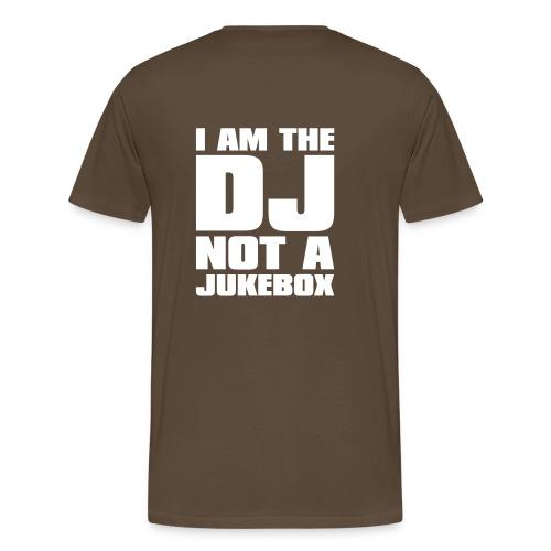 DJ Cocco: not a Jukebox - Männer Premium T-Shirt