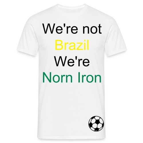 Not Brazil - Men's T-Shirt