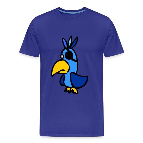 Piraten Papagei - Männer Premium T-Shirt
