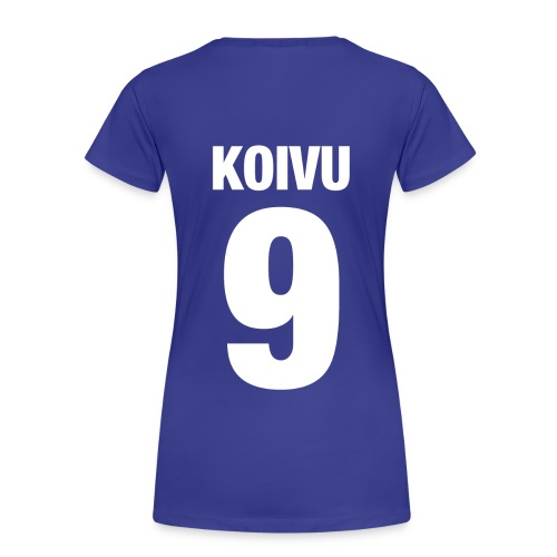 Koivu #9 girliepaita - Naisten premium t-paita